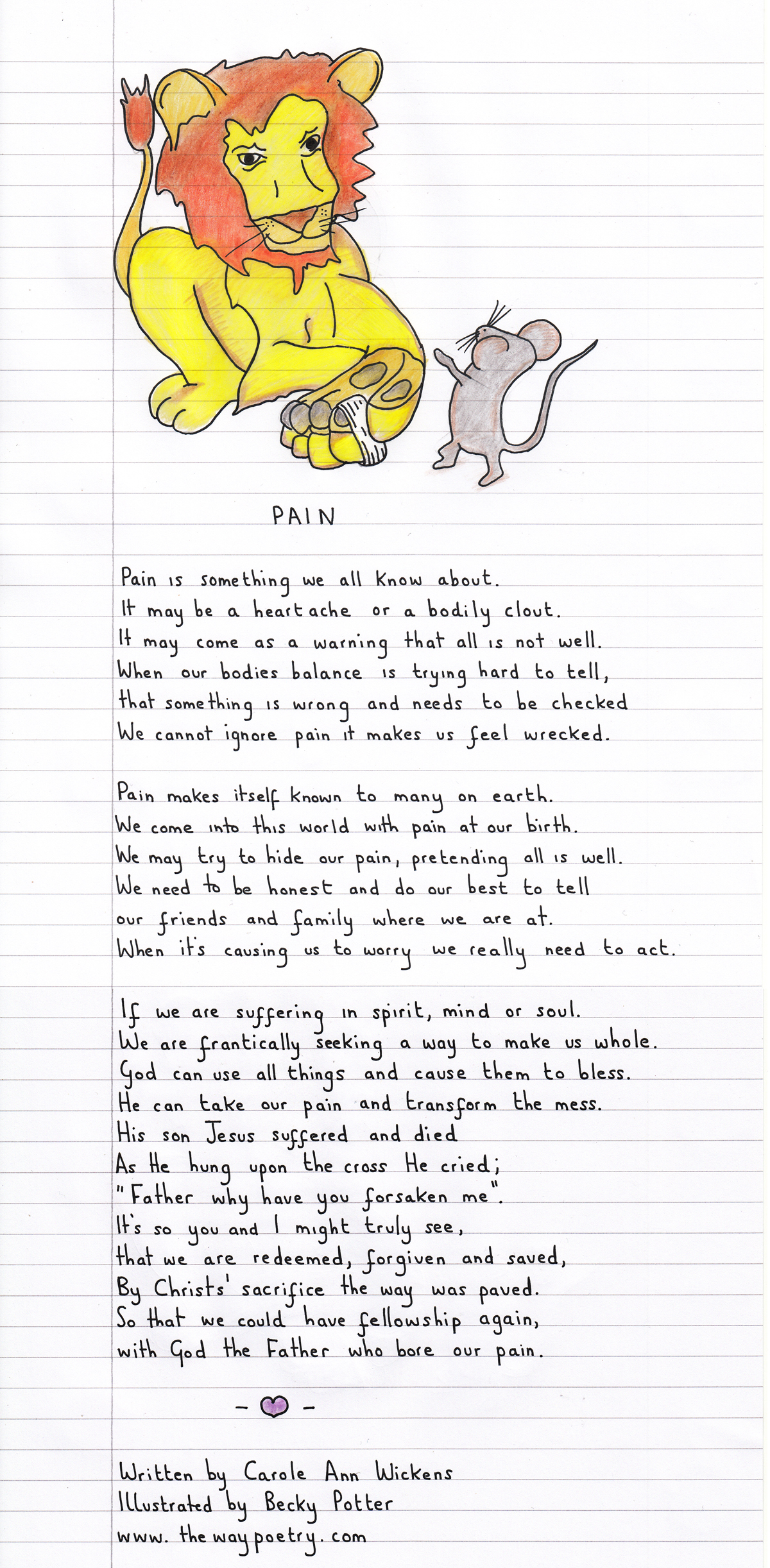 Pain by Carole AnnWickens