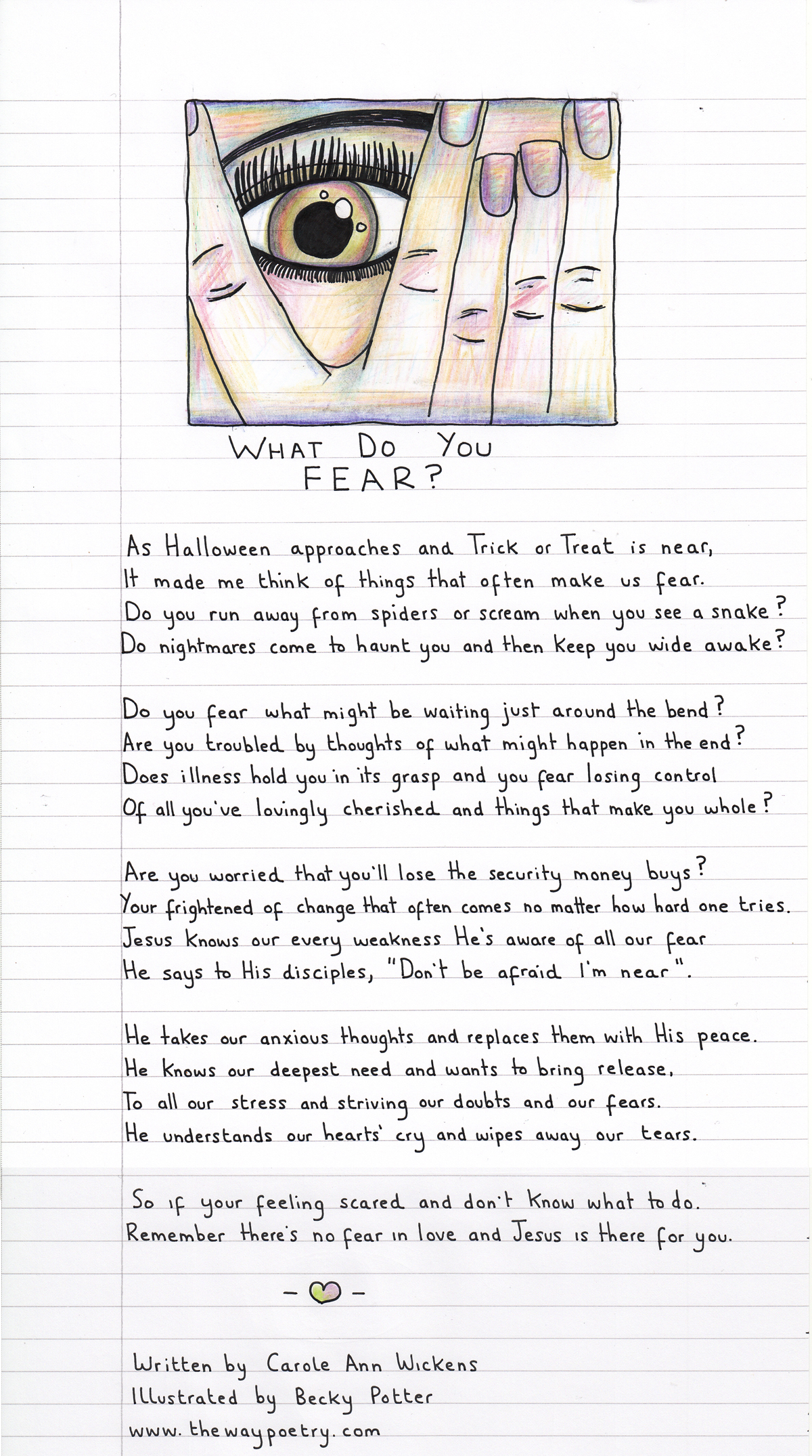 What Do You Fear by Carole AnnWickens