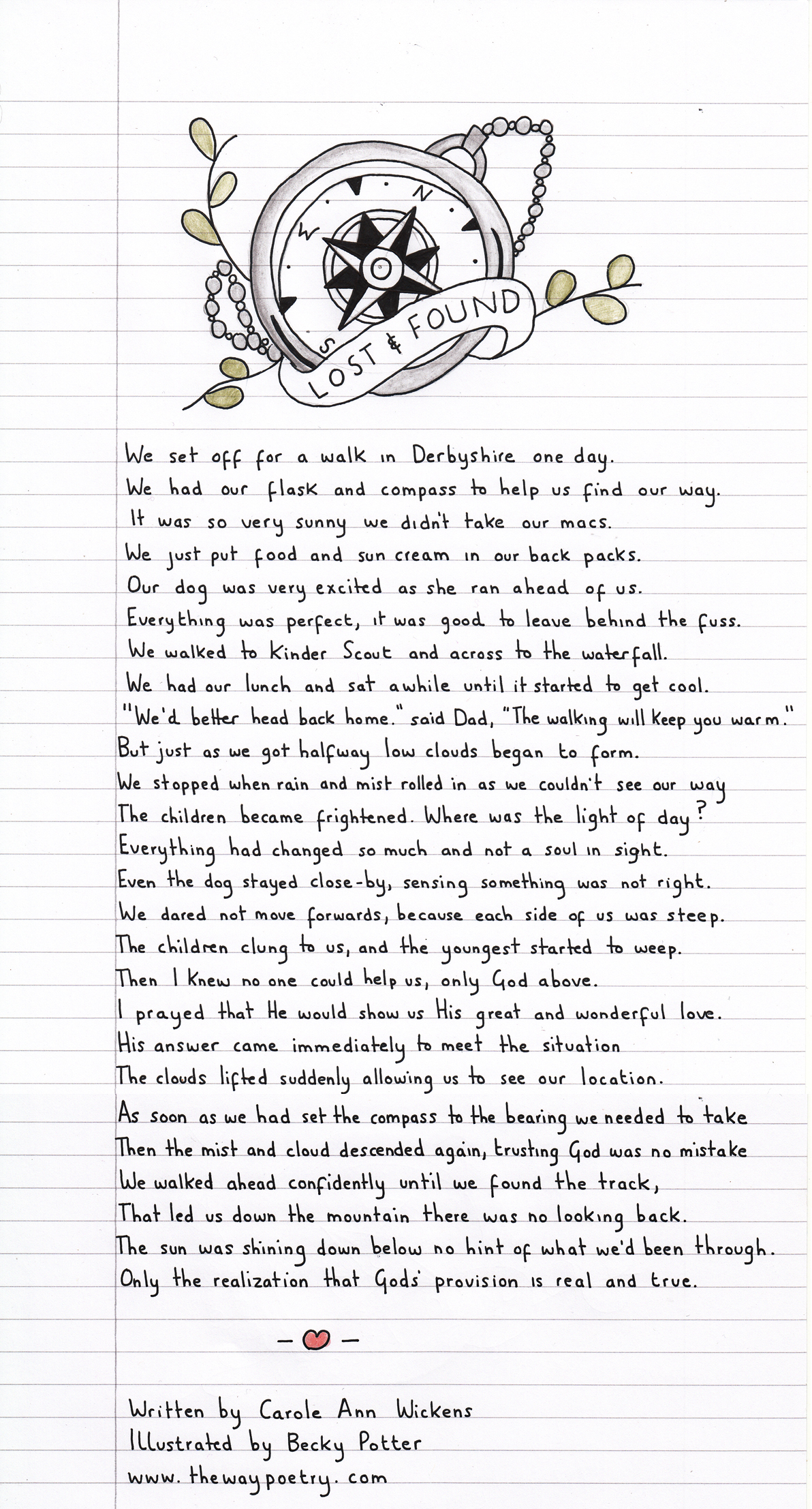 Lost & Found by Carole Ann Wickens