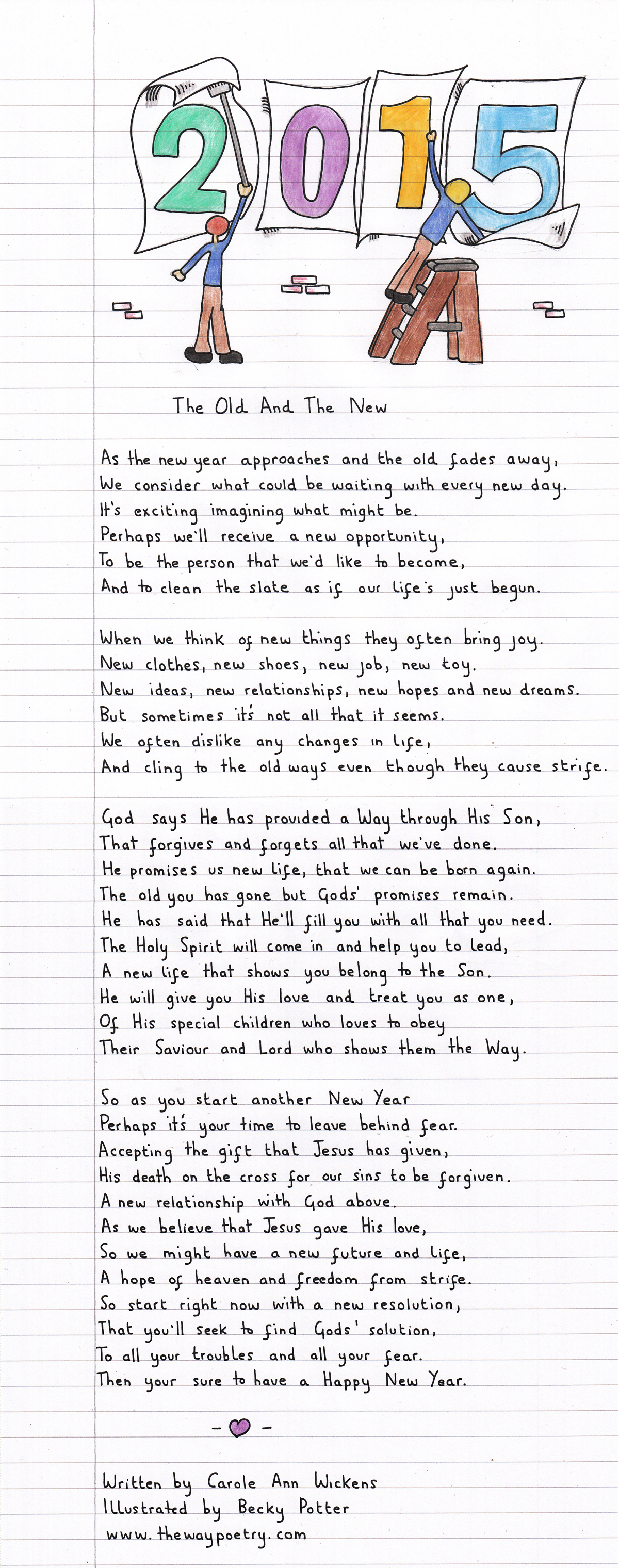 The Old And The New by Carole Ann Wickens