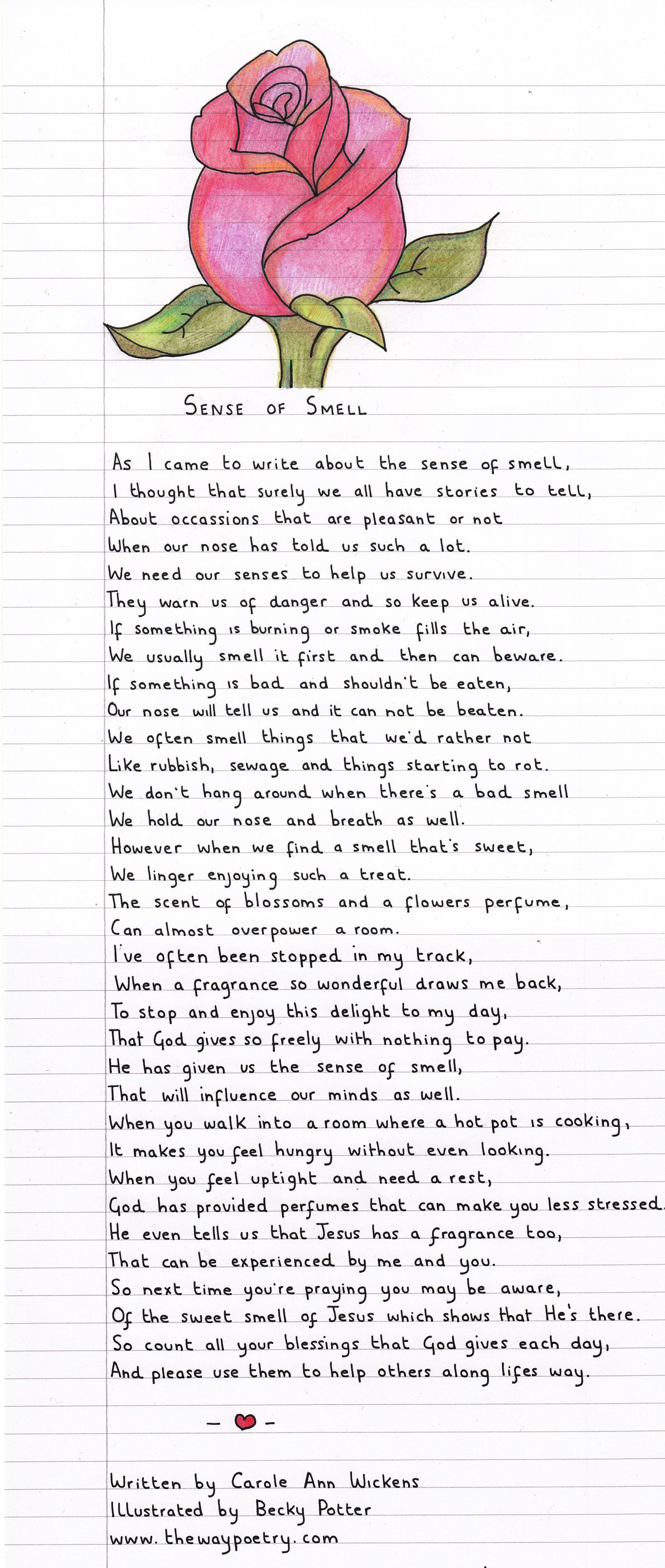 Sense of Smell by Carole Ann Wickens