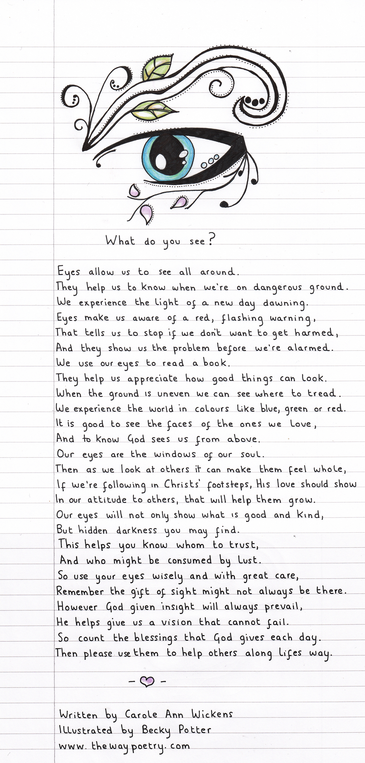 What Do You See? by Carole Ann Wickens