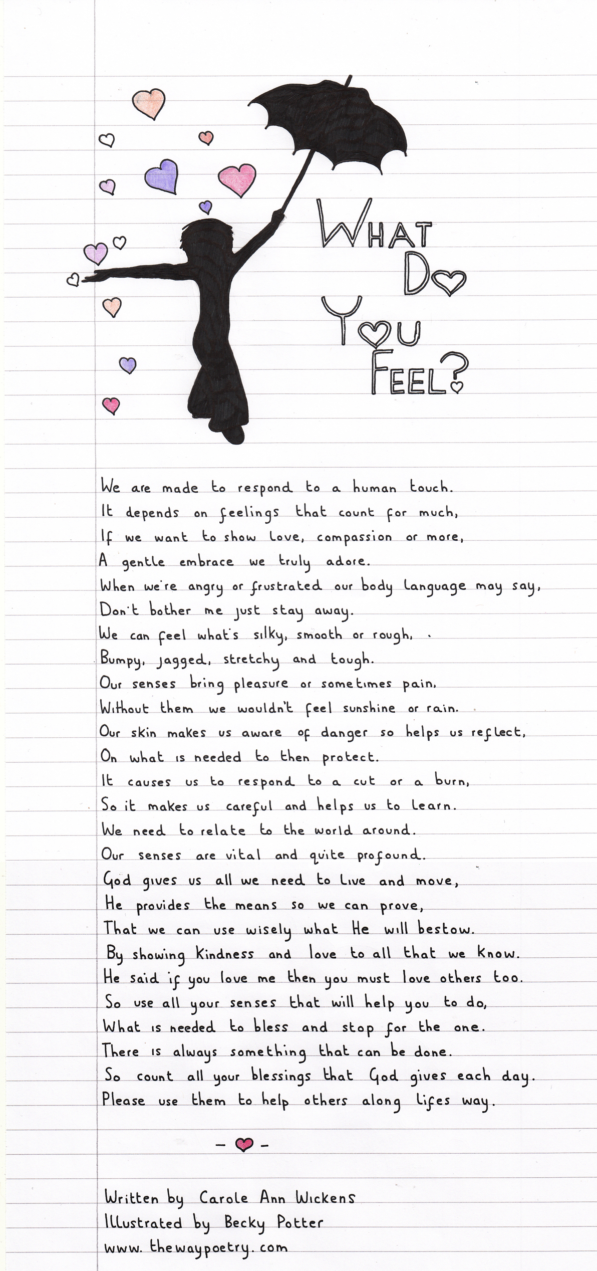 What Do You Feel? by Carole Ann Wickens