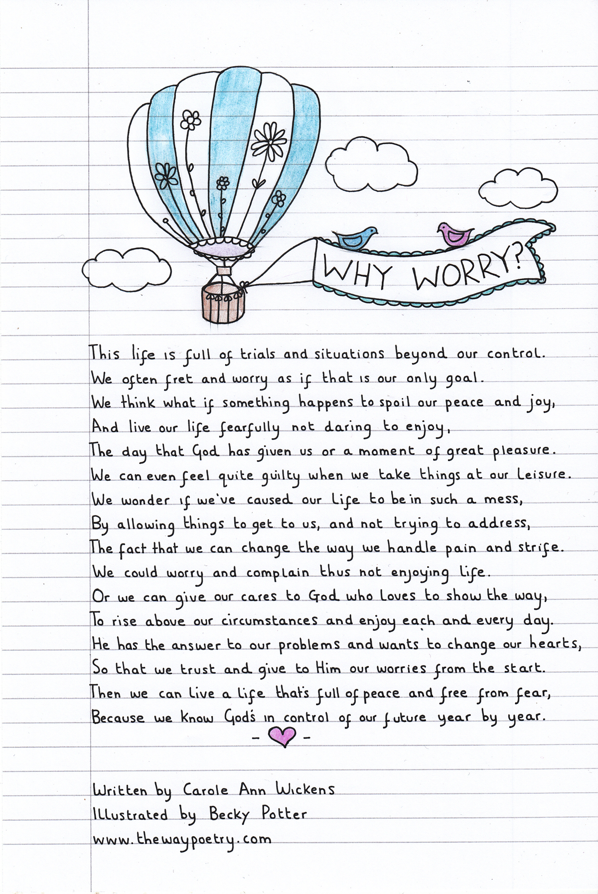 Why Worry? by Carole Ann Wickens