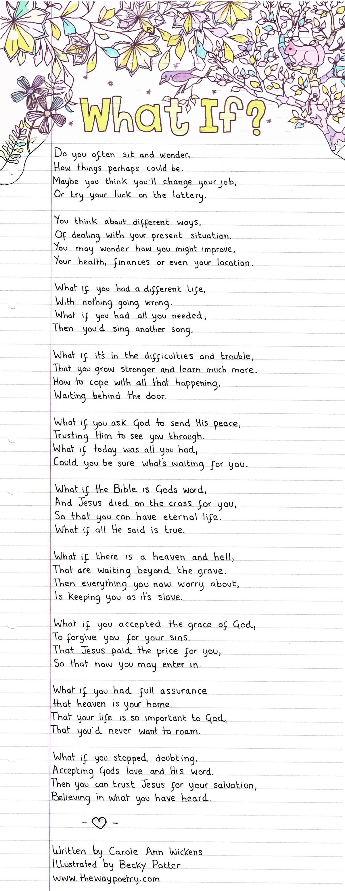 What If? by Carole Ann Wickens