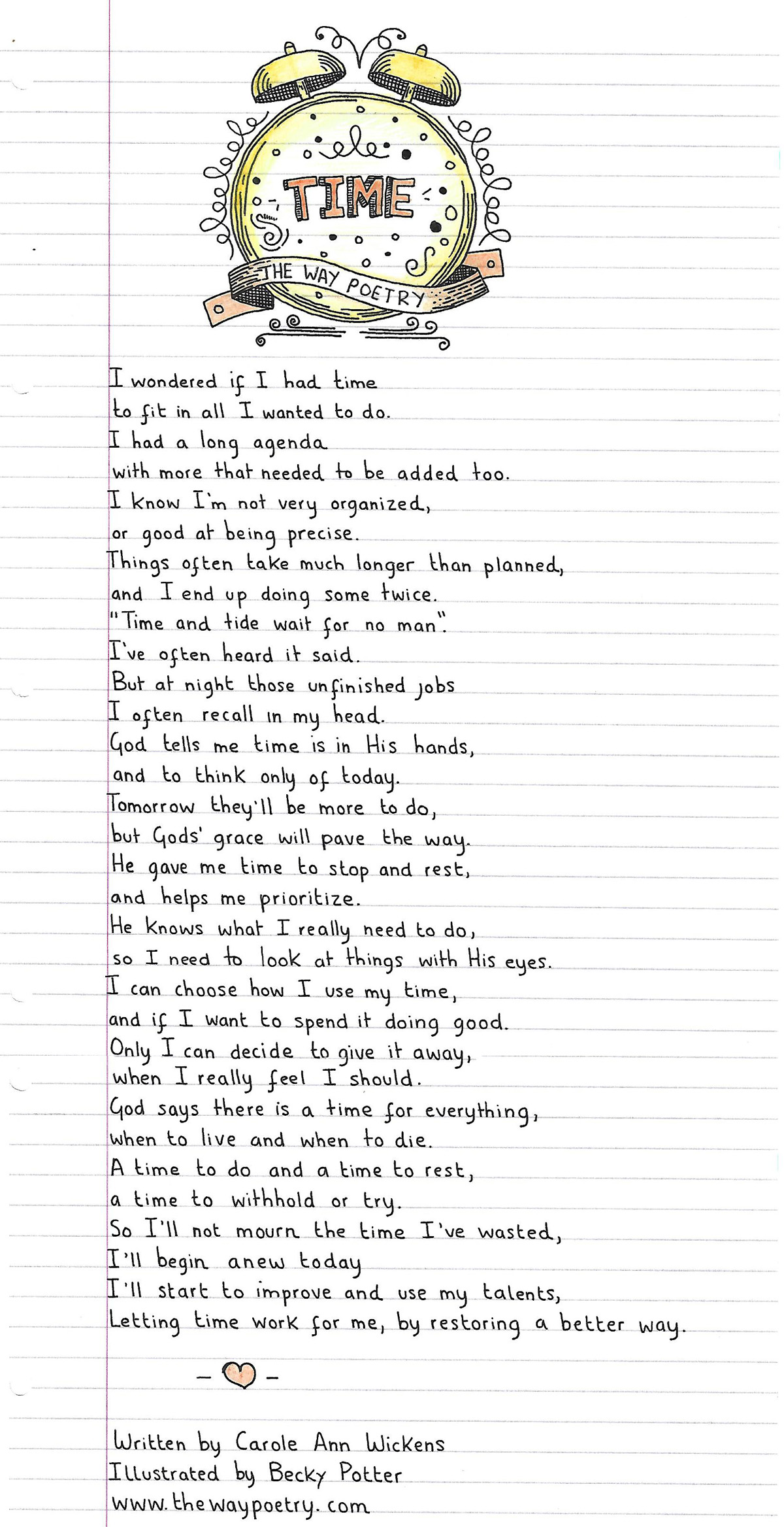 Time by Carole Ann Wickens