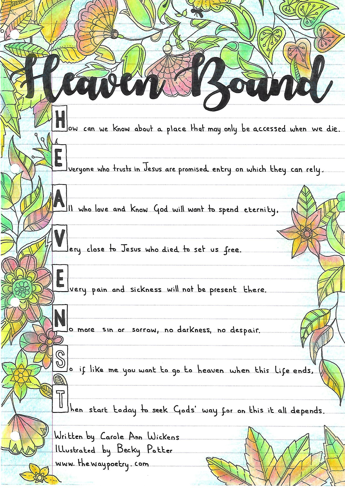 Heaven Bound by Carole Ann Wickens