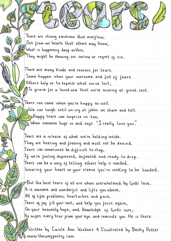 Tears by Carole Ann Wickens