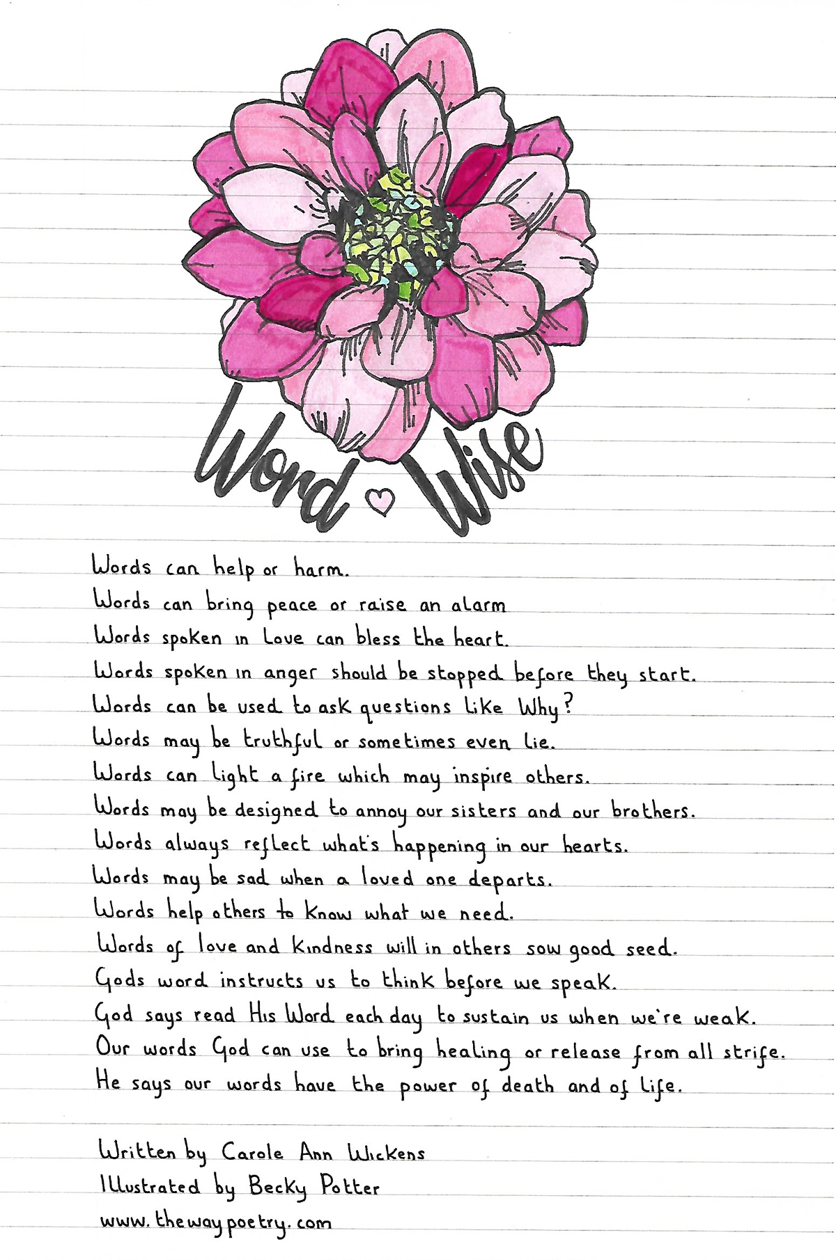 Word Wise by Carole Ann Wickens