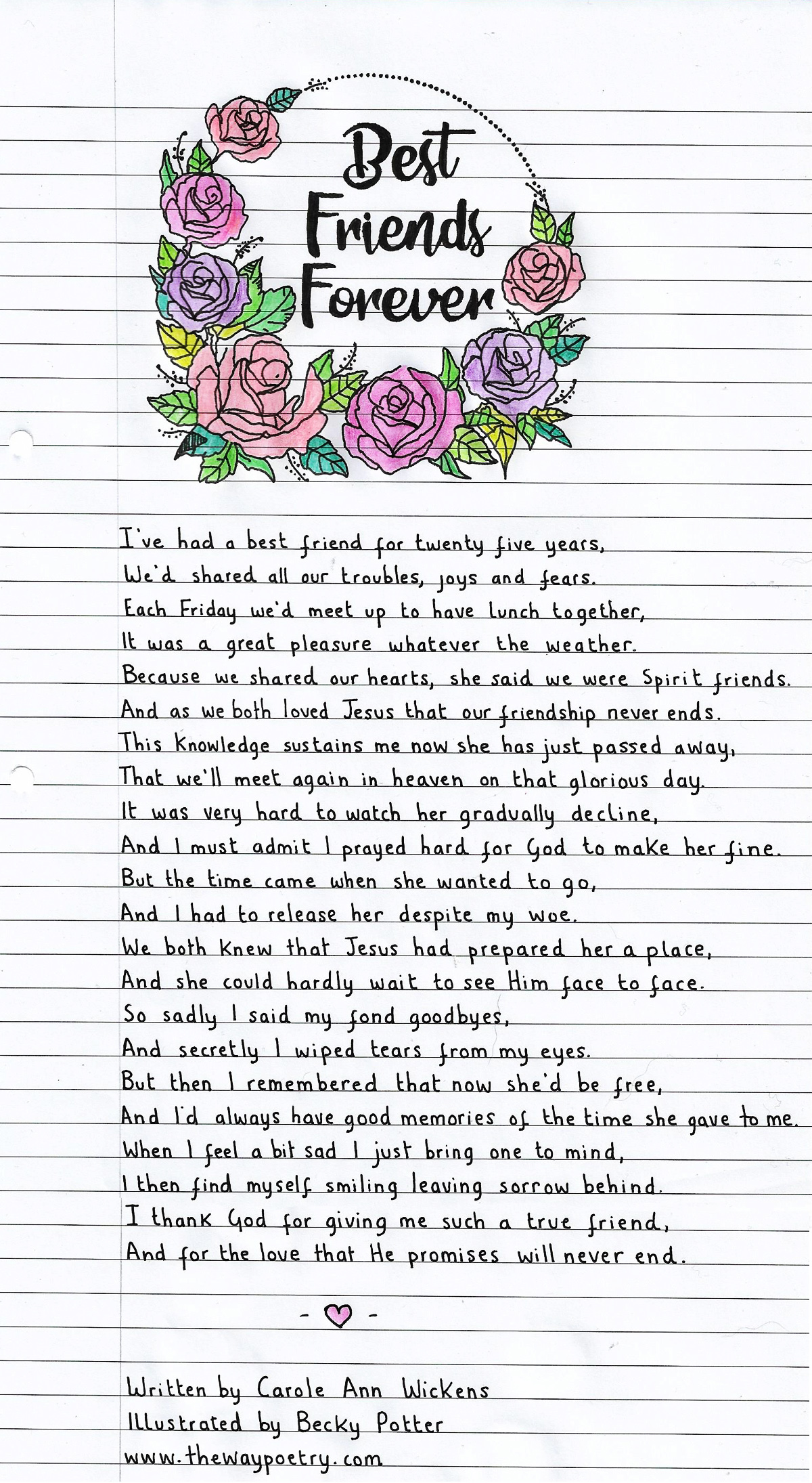 Best Friends Forever by Carole Ann Wickens