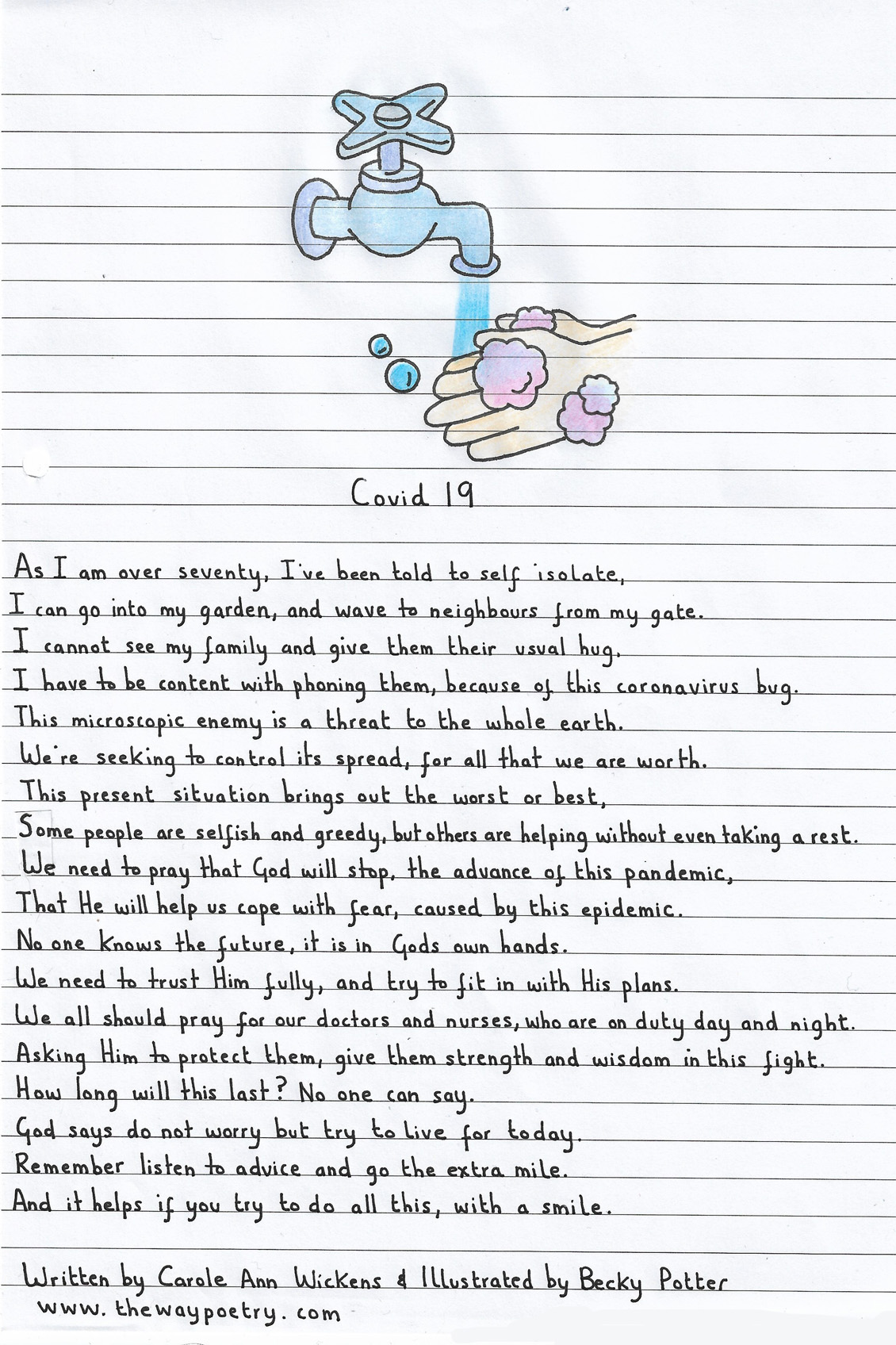 Covid 19 by Carole Ann Wickens